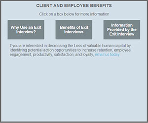 Client & Employee Exit Interview Benefits